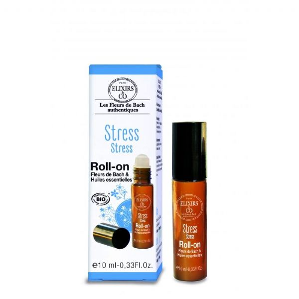 Stress Roll-On 10ml, Brings tranquility, peace of mind and serenity
